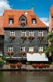 Bamberg domy Zdjęcie Royalty Free