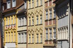 Bamberg domy, Niemcy Obrazy Royalty Free