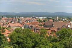 Bamberg in Duitsland Royalty-vrije Stock Afbeeldingen
