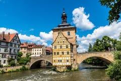 Bamberg - dziejowy miasto w Germany obraz royalty free