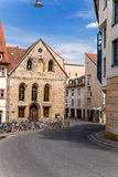 Bamberg, Germany. Chapel of the Virgin Mary in the Jewish quarter, 1470. Bamberg - a city of district subordination in Bavaria, Germany on the river Regnitz stock photography