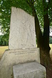 Bamberg, Germany - Memorial stone to the German writer of the 19th century E.T.A. Hoffmann Stock Images