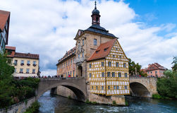 Bamberg, Germany townhall royalty free stock photography