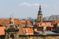 Bamberg, Germany. View from Domplatz. Royalty Free Stock Photos