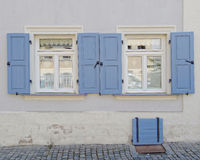 Bamberg, Germany, vintage home windows Stock Images