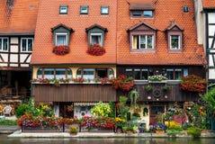 Bamberg-Häuser Lizenzfreies Stockbild
