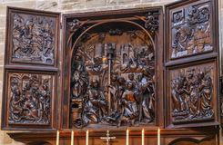 Bamberg-Kathedrale, Deutschland Lizenzfreie Stockfotografie