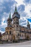Bamberg-Kathedrale in oberem Franconia, Bayern, Deutschland lizenzfreie stockbilder