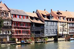 Bamberg - Little Venice Stock Image