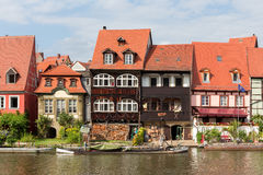 Bamberg Little Venice Stock Image