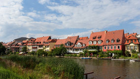 Bamberg Little Venice Royalty Free Stock Photos
