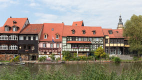 Bamberg Little Venice Royalty Free Stock Images