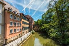 Bamberg Little Venice Royalty Free Stock Image