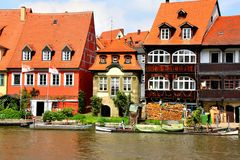 Bamberg Little Venice Royalty Free Stock Photography