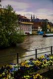 Bamberg miasteczko zdjęcie royalty free