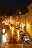 Bamberg-Nacht Stockbild
