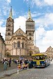 Bamberg Niemcy, Czerwiec, - 04, 2016: Turysta dostaje na sightseei fotografia royalty free