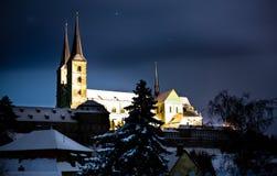 Bamberg at night Stock Photography