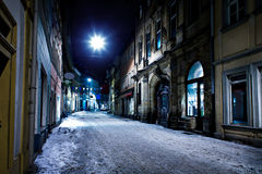 Bamberg at night Royalty Free Stock Photography