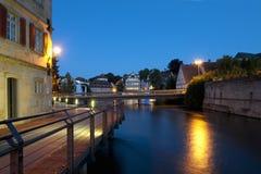 Bamberg at night Stock Photo