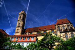 Bamberg Obere Pfarre. Church Obere Pfarre in Bamberg, Germany Royalty Free Stock Photos