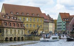 Bamberg, old buildings architecture royalty free stock image