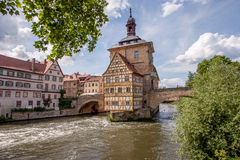 Bamberg  - old town world Heritage Stock Photos