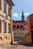 Bamberg - oude stad Stock Fotografie