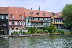Bamberg peu de Venise Photo stock