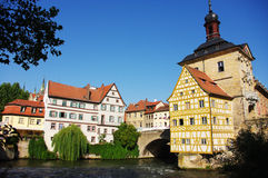 Bamberg Rathaus Royalty Free Stock Photo