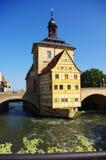 Bamberg Rathaus Photographie stock libre de droits