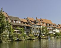 Bamberg River Houses Royalty Free Stock Photo