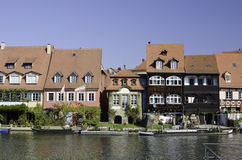 Bamberg River Houses Royalty Free Stock Photography