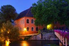 Bamberg slott Geyerswoerth Arkivfoto
