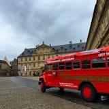 Bamberg-Stadtbus Stockbild