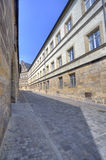 Bamberg street, Germany Stock Images