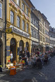 Bamberg Street, Germany Royalty Free Stock Photography