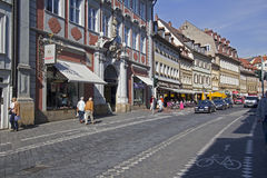 Bamberg Street, Germany Royalty Free Stock Photography
