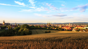 Bamberg Summer City View Stock Photography