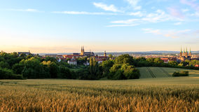 Bamberg Summer City View Royalty Free Stock Photography