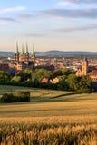 Bamberg Summer City View Stock Photo