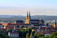 Bamberg Summer City View Stock Image
