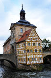 Bamberg town hall Stock Images