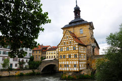 Bamberg town hall Royalty Free Stock Photo