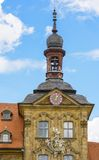 Bamberg town hall tower Royalty Free Stock Image