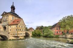 Bamberg Townhall, Alemania Foto de archivo