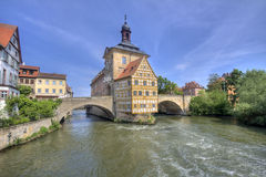 Bamberg Townhall, Allemagne Image stock