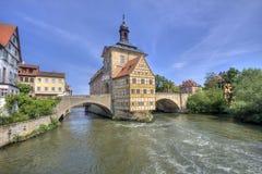 Bamberg Townhall, Deutschland Stockbild