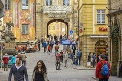 Bamberg urząd miasta obraz royalty free