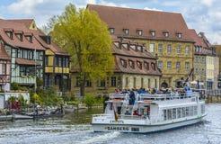 Bamberga, vecchia architettura delle costruzioni Fotografie Stock
